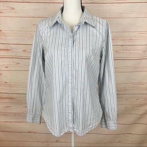 IZOD Striped Button Down Shirt